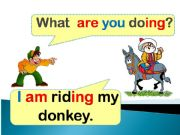 English powerpoint: Present continuous with the pronoun (You-I-We)