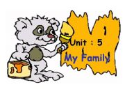 English powerpoint: family
