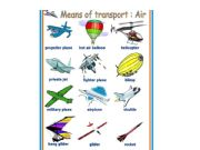 esl   english powerpoints means of transport