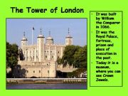 English powerpoint: London 4  (from 10 parts)