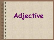 English powerpoint: adjective