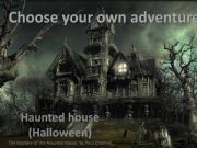English powerpoint: choose your own adventure - haunted house