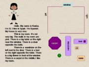 English powerpoint: Read and furnish the room