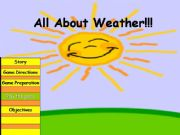 English powerpoint: All about weather