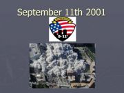 English powerpoint: Sept 11th attacks - multiple choice questions- editable