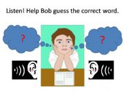 English powerpoint: Minimal Pairs Game - a listening activity