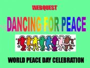 English powerpoint: Dancing for Peace