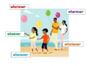 English powerpoint: Whatever, whichever, whenever, whoever, wherever
