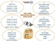 English powerpoint: Dice game