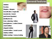 English powerpoint: Physical Appearance