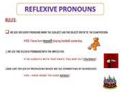 Reflexive pronouns worksheet esl