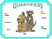 English powerpoint: Quantifiers