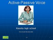 English powerpoint: The passive voice :)