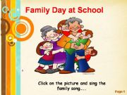 English powerpoint: family day at school