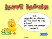 English powerpoint: Easter game