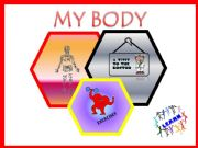 English powerpoint: The body  (part one)