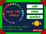 English powerpoint: Pass the word - QUIZ (4)