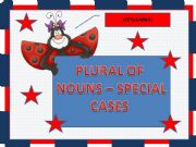 English powerpoint: Plural of nouns - special cases