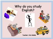 English powerpoint: Why and because