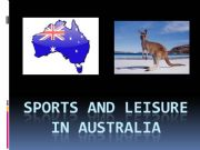 English powerpoint: Sports and leisure in Australia
