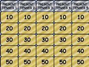 English powerpoint: Present tenses jeopardy