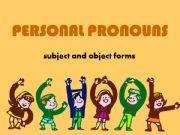 English powerpoint: PERSONAL PRONOUNS 1