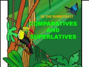 English powerpoint: Comparing the rainforest