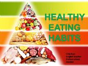 English powerpoint: healthy eating habbits