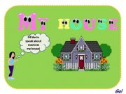 English powerpoint: Rooms in the house/There is_There are + pictures