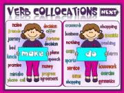 English powerpoint: Verb collocations - MAKE or DO (2)