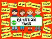 English powerpoint: Question tags - GAME (1)