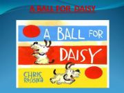 English powerpoint: A BALL FOR DAISY