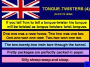 English powerpoint: TONGUE-TWISTERS with SOUND - Part 4