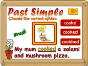 English powerpoint: Past Simple - regular verbs *GAME*  (2)