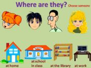 English powerpoint: Where are they?