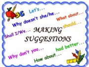 English powerpoint: Making suggestions *part 1*