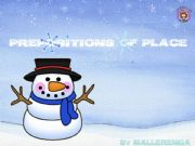 English powerpoint: Prepositions in winter