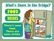 English powerpoint: What´s there in the fridge?