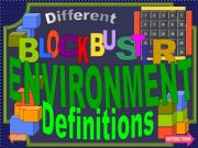 English powerpoint: Environmental phrases-definitions game