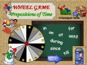 English powerpoint: Prepositions of Time