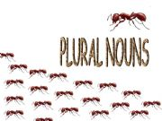 English powerpoint: Plural of Nouns (Animals and Flowers)
