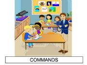 English powerpoint: CLASSROOM COMMANDS - part 2