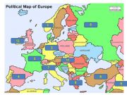 English powerpoint: European Counries -prepositions of location