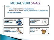 English powerpoint: MODAL VERB SHALL