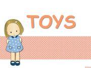 English powerpoint: Toys * 20 slides *