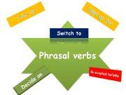 English powerpoint: Phrasal verbs