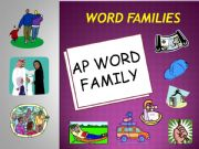 English powerpoint: AP WORD FAMILY POWERPOINT