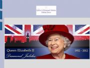 English powerpoint: The Queen´s Diamond Jubilee online store