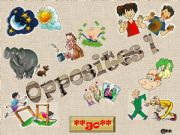 English powerpoint: WHICH OPPOSITES DO YOU RECOGNIZE ? PART 1/3