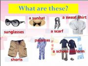 English powerpoint: clothing items